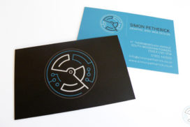 Simon Petherick business card