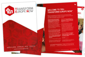 Transform Europe Now – Branding and Portfolio