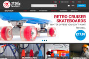 3Style Scooters website and branding